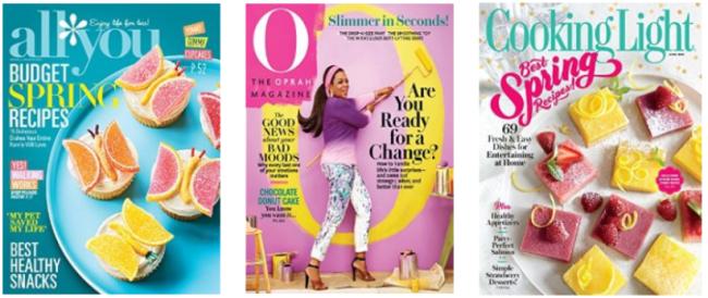 amazon $5 magazine collage
