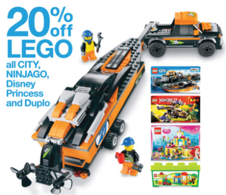 target ad LEGO