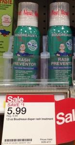 target baby rash