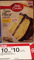 target betty crocker cake sm