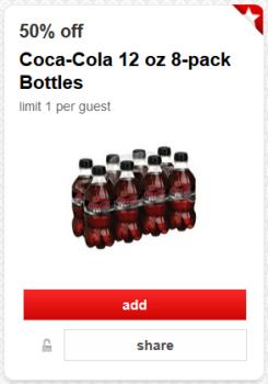 target cartwheel coke