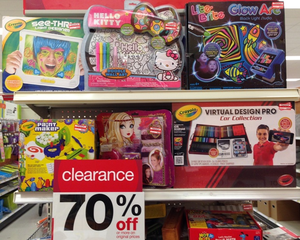 target clear arts crafts 70
