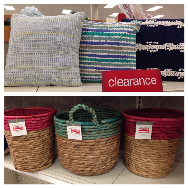target clear baskets 50