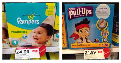 target diaper deals