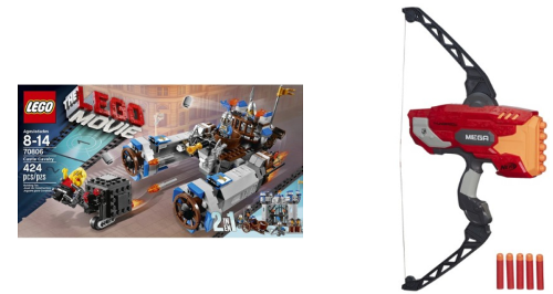 target lego nerf collage