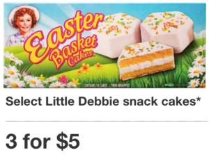 target little debbie snack cake