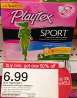 target playtex sport sm