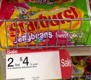 target starburst jelly bean