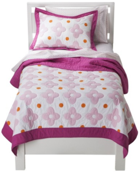 target.com bedding pink