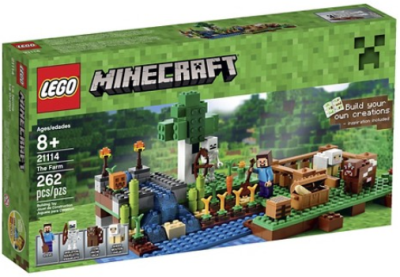 target.com lego minecraft the farm