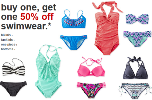 811332bb8e Target.com: Buy One Get One 50% off Women's Swimwear | All Things Target