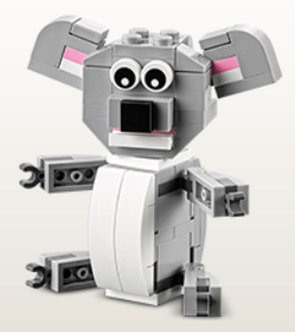 LEGO store free build may