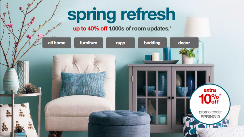 Up To 40 Off Home Items Extra 10 Off All Things Target