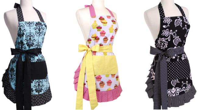 flirty apron collage