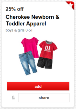 target cartwheel offer toddler