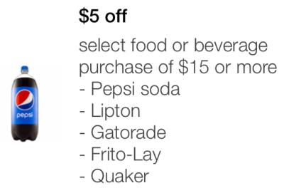 target moblie coupon food
