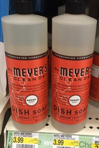 target  mrs meyers clean day dish soap