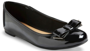 target.com black flat shoe