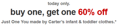 target.com carters deal
