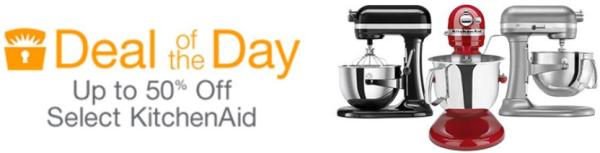 amazon kitchenaid daily deal sale