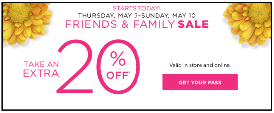 kohls new sale 20 off