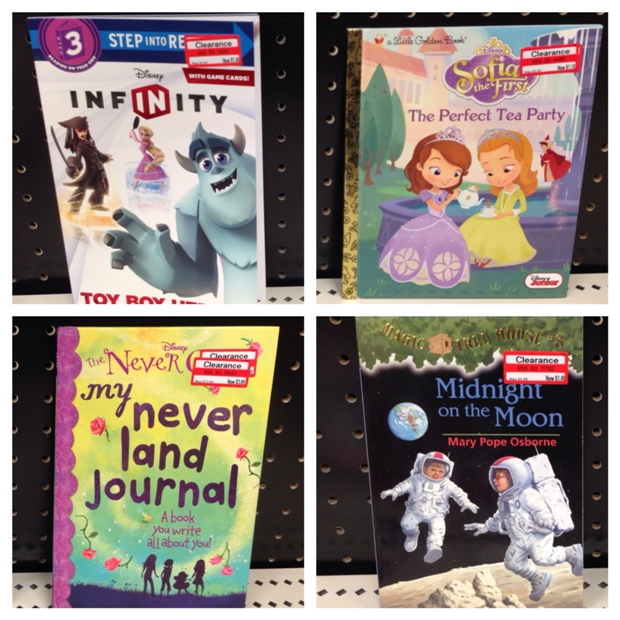 target clear books 70