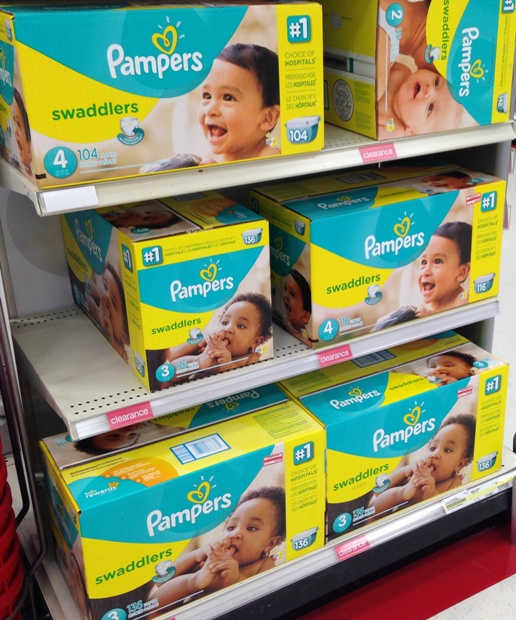 target clear diaper 15