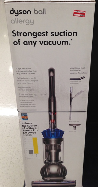 target clear dyson 30