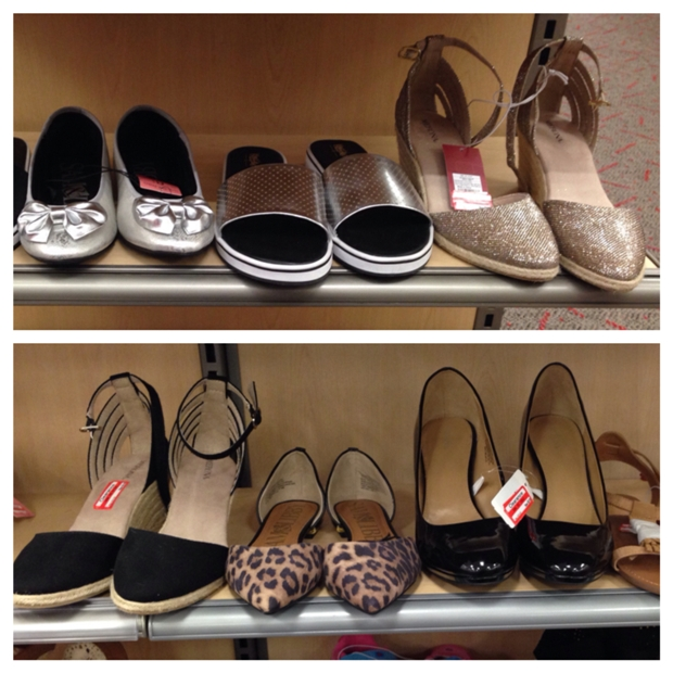 target clear shoe 70
