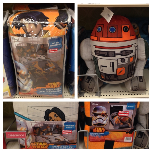 target clear star wars bedding 30