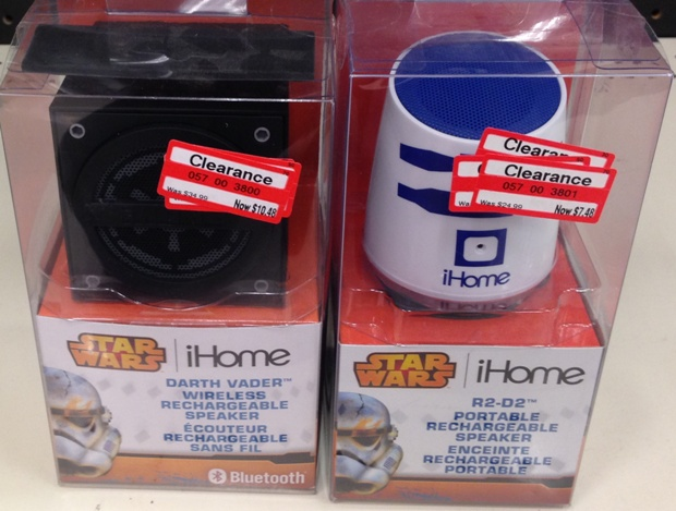 target clear star wars ihome 70