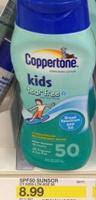 target coppertone kids sm
