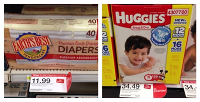 target diaper collage pic