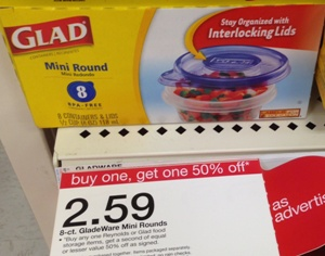 target glad containers sale