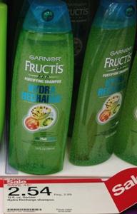 target granier shampoo cond