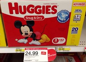 target huggies diaper deal