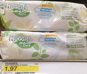 target huggies wipes deal new