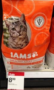 target iams catfood deal