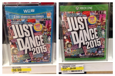 target just dance cartwheel offer collage pic