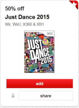 target just dance cartwheel offer