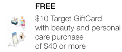 target mobile coupon beauty personal care