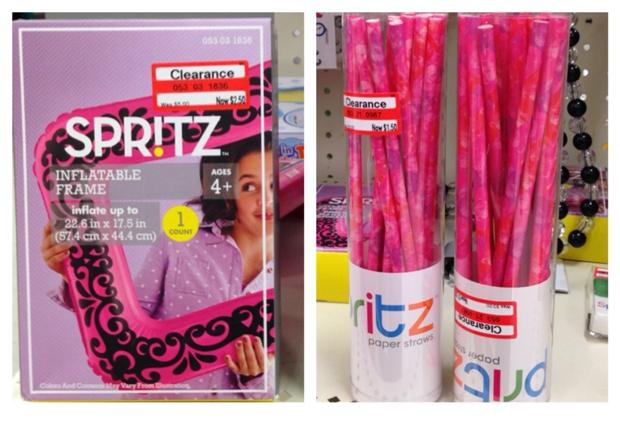target spritz straw frame 50