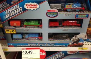 target thomas and friends trackmaster set