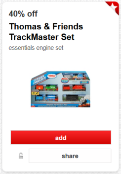 target thomas friends track master toy