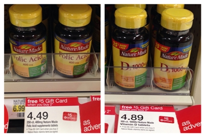 target vitamin collage pic