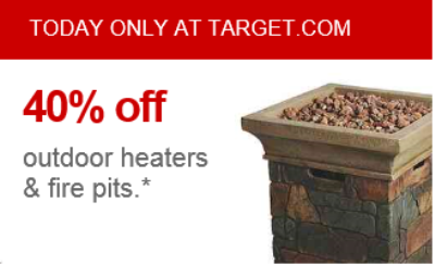target.com fire pit deal