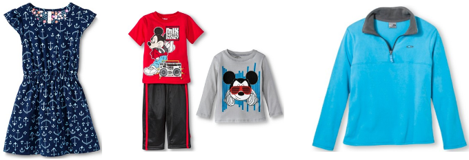 target.com kids clothes collage pic