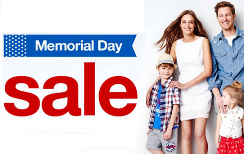 target.com memorial day sale family