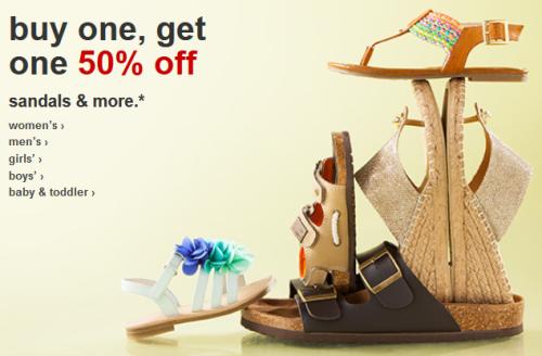 target.com shoe deal