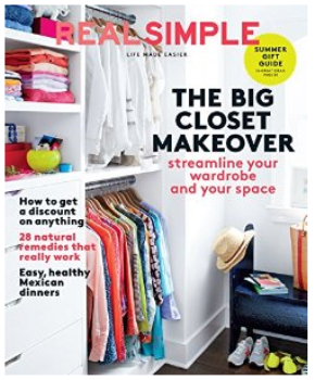 amazon real simple magazine deal